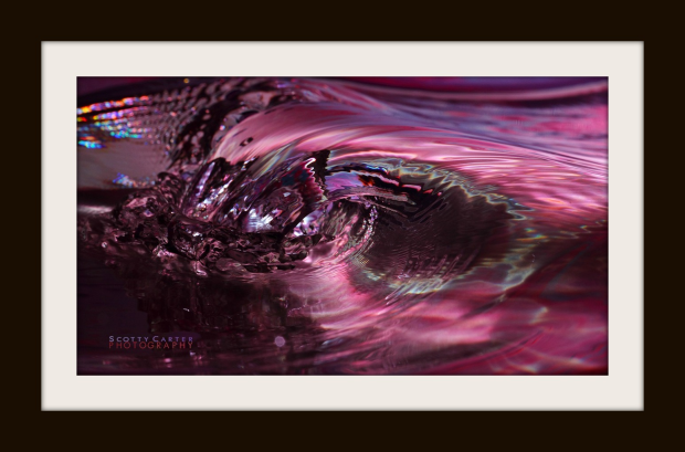 Framed Wave Art By Scotty Carter